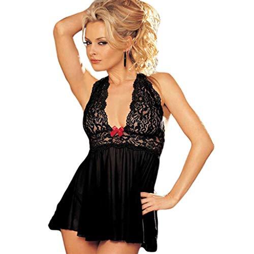 HZH Sexy Frauenkleid Mit U-Boot-Ausschnitt Sexy Abendkleid Mit Amerikanischem Ausschnitt,Schwarz,S