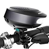 Bike Speaker Light with Mount, RYOKO 4 In 1 Bicycle Waterproof Wireless Bluetooth Speaker Lights for Handlebar, USB Rechargeable Battery, with Loud Sound & Bright Led Headlight for Night Ride