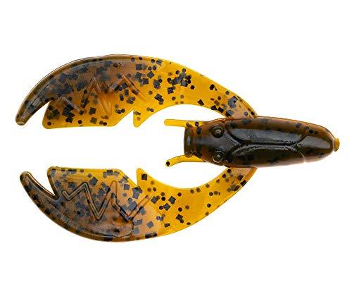 NetBait Paca Chunk Trailer Jig Soft Plastic Crawfish Lure Bass Fishing Bait, Alabama Craw, Paca Chunk Sr. (3.25' Length)