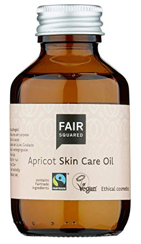 FAIR SQUARED Skin Care Oil Apricot 100ml ZERO WASTE, zertifizierte Naturkosmetik