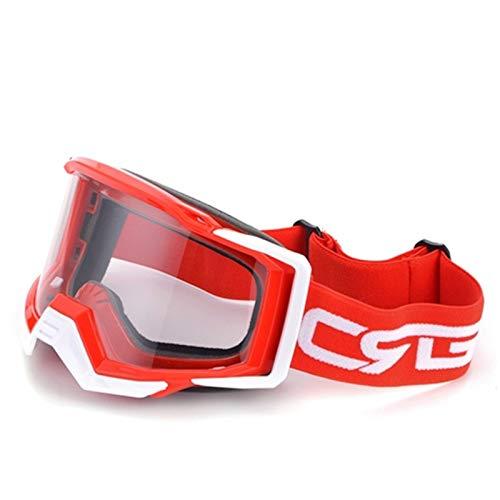 Profi Motorradgläser Motocross Goggles Gläser Skifahren Sport Augenlager Off Road Helme Motorrad Goggle Schutz (Color : Model 18)