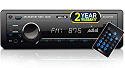 iBELL DXP700 140W Car Stereo Media MP3 Music System, Bluetooth One Touch to Receive Call (FM/AUX/USB/MMC),iBELL