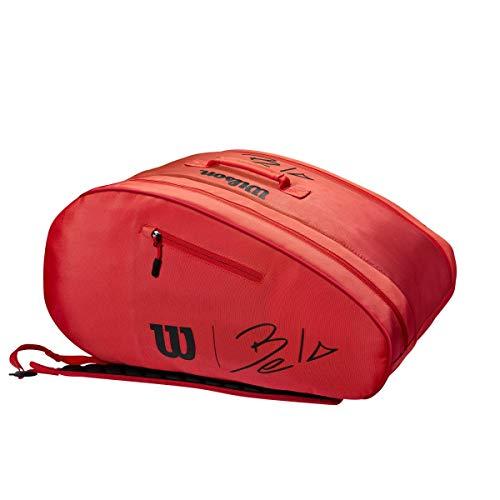 WILSON Bela Super Tour Bag Padel Red