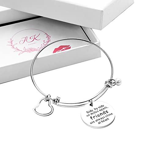 Anson&Hailey braccialetto Best Friends e Inspirational braccialetto braccialetti dell amicizia, regolabile, regali, gioielli Sister Gift.