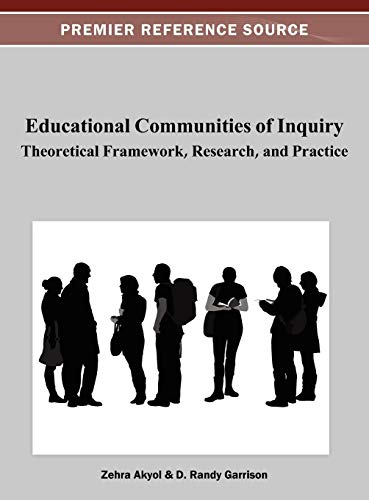 Educational Communities Of Inquiry Theoretical Framework Research And Practice