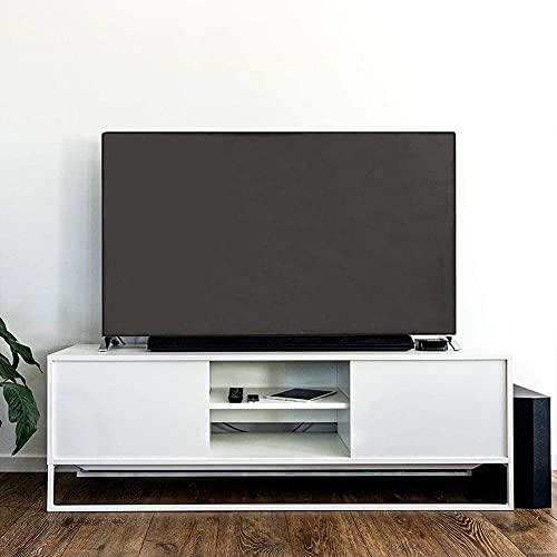 ZIFON Cubierta de TV para exteriores con revestimiento resistente a los arañazos exterior 600D impermeable resistente al polvo Slim Fit Televisión LED Protector de pantalla para