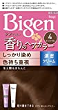 ホーユー ビゲン香りのヘアカラークリーム4 (ライトブラウン) 1剤40g+2剤40g [医薬部外品]