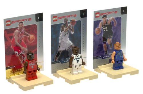 LEGO NBA Collector 3-Pack: Jalen Rose, Predrag Stojakovic, Kevin Garnett (3566) by LEGO