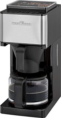 ProfiCook PC-KA 1138, 2 w 1 ekspres do kawy z mechanizmem mielącym na ok. 8 – 10 filiżanek (1,25 litra)