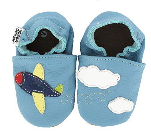 HOBEA-Germany Baby Krabbelschuhe Jungen, Schuhgröße:16/17 (0-6 Monate), Modell Schuhe:Flieger