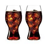 414/21'O' Coca-Cola Glass (Estuche 2 Copas)