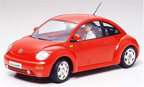 Tamiya New Beetle Motorized 24252 - Maqueta Para Montar Volkswagen New Beetle Motorizado Escala 1/24