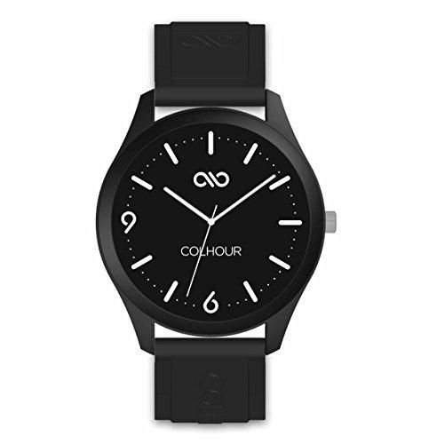Colhour Watches - Reloj de Pulsera Unisex con Correa de Silicona, diseñado y Creado en ESPAÑA y Mecanismo japonés Miyota by Citizen