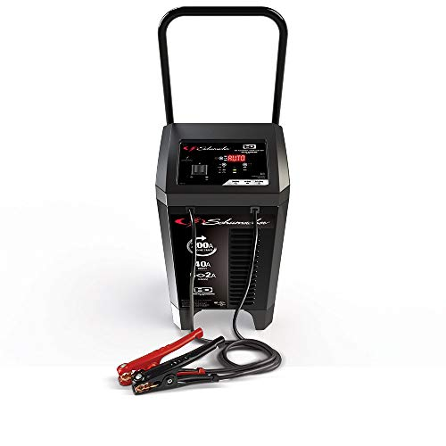Schumacher SC1353 200 Amp 40 Amp 12V Fully Automatic Smart Battery Charger with Engine Starter, Boost, and Maintainer for Cars, Trucks, SUVs, RV Batteries