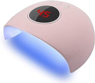 【2021 Promoción de año nuevo】Secador de uñas Máquina de secado de esmalte de gel para uñas, Secador de esmalte de uñas Pantalla LCD Lámpara de uñas, Secador de uñas LED para curar el esmalte de gel de
