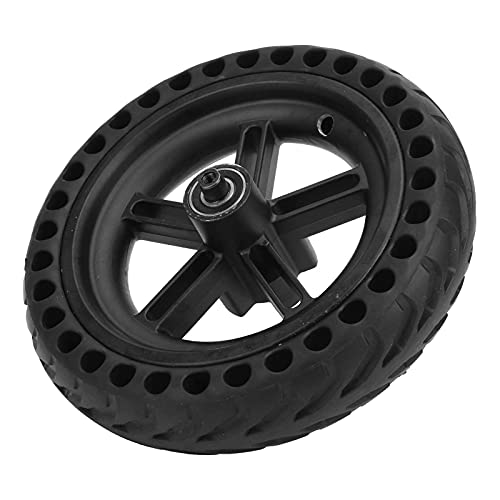 wsetrtg Neumático de Scooter eléctrico con llanta de aleación Neumático no neumático Neumático de Cubo de Repuesto sólido 8.5x2 Compatible con Xiaomi Mijia M365