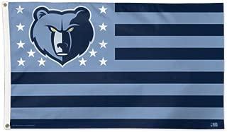 WinCraft NBA Memphis Grizzlies Flag3'x5' Flag, Team Colors, One Size