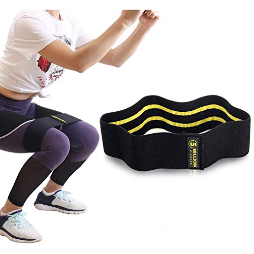 Réglable Yoga Anti Dérapante Bandes de résistance Jambe Hip Boucle Roll up Exercice Fitness