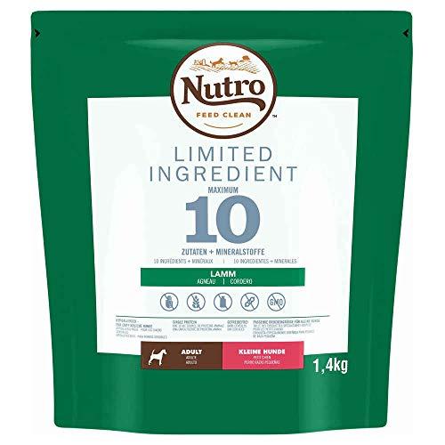 Nutro Limited Ingredient Cordero Perros Adultos Razas Pequeñas -1,4 Kg