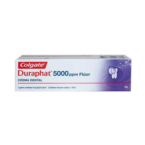DURAPHAT 5000 PPM FLUOR CREMA DENTAL 51G
