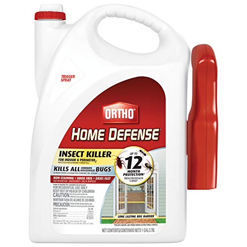 Ortho 220810 Home Defense Insect Killer for Indoor & Perimeter2 Ready-to-Use, 1 gal, V