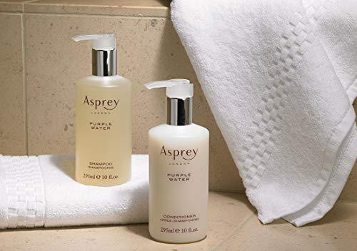 The Ritz-Carlton Asprey Purple Water Hair Care Set - Includes Shampoo (10 oz.) and Conditioner (10 oz.) - Invigorating Citrus and Spice Scent