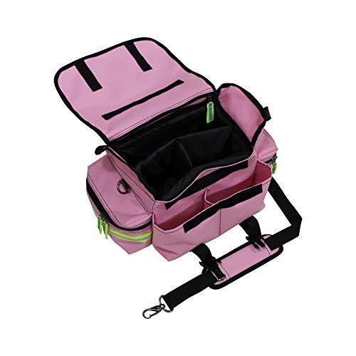 Kemp USA 16' Pink, Black, and Green Outdoor First Responder Bag