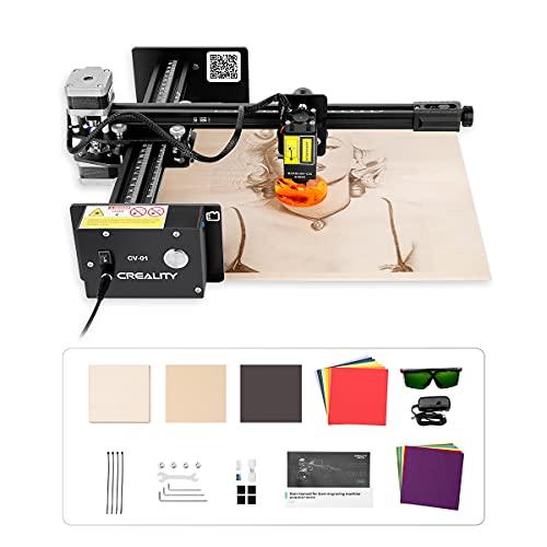 Creality Laser Master Engraver Machine, 20W Engraving Machine Desktop DIY Art Craft Logo Mark Printer Mini Carver Wood Engraving Working Size 6.69x7.87 inch(170x200mm)