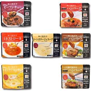 レトルト 惣菜 神戸開花亭 シリーズ 7種類14袋セット (レンジ 簡単調理 惣菜 スープ)