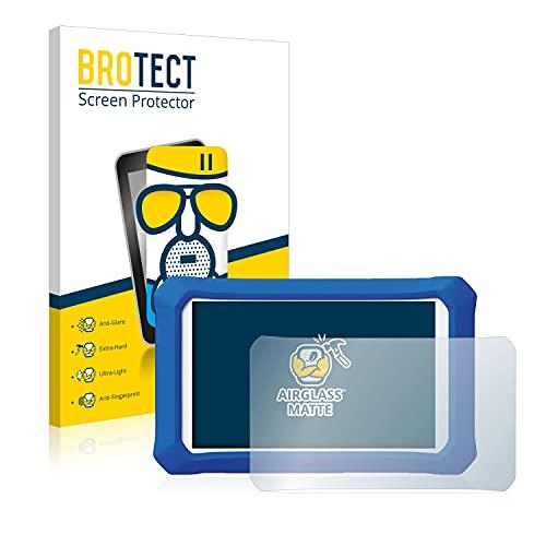 brotect Pellicola Vetro Opaca Compatibile con Clementoni Clempad X Plus Protezione Schermo Anti-Riflesso Durezza 9H, AirGlass