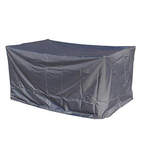 GRW-incatramata Coperture per mobili da giardino Set copertura per patio Tarpaulin Tavolo da patio e sedia Cargo antipolvere impermeabile Prevenire ruggine, 11 taglie, Custom Made (Colore: GRIGIO, Dim