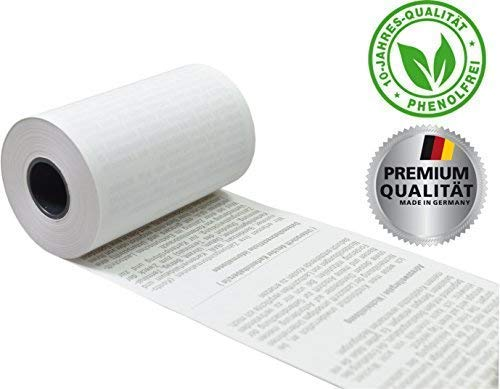 EC Thermorollen mit SEPA-Lastschrifttext 57mm x 14m x 12mm [ØRolle 35mm] phenolfrei Drucker schonend 52g/m² ➤ 50 Stck. (50)