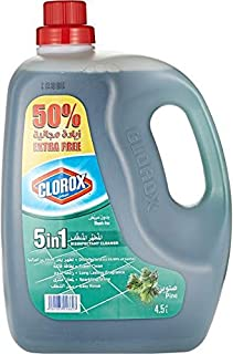 Clorox 5 in 1 Disinfectant Pine Cleaner - 4.5 liter