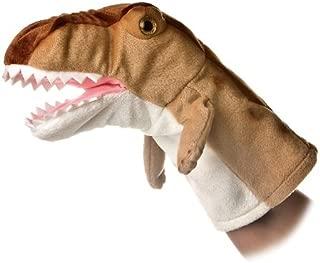 Aurora World Hand Puppet Plush T Rex Dinosaur, 10