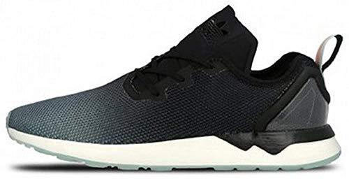 adidas Originals ZX Flux ADV Asymmetrical Schuhe Sneaker Turnschuhe Schwarz S79055, Größenauswahl:46 2/3