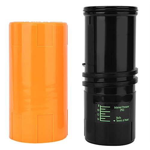 Contenedor ligero de pelota de tenis, 85 x 200 mm, 14 psi, presurizador de pelota de tenis con plástico clásico, caja de pelotas de tenis, contenedor de reparación de mantenimiento de presión