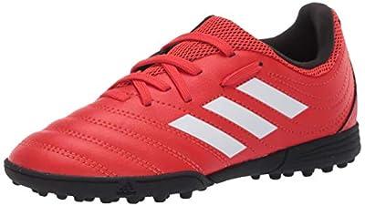 adidas Kids Unisex's Copa 20.3 Turf Boots Soccer Shoe, Active red/FTWR White/core Black, 13.5K M US
