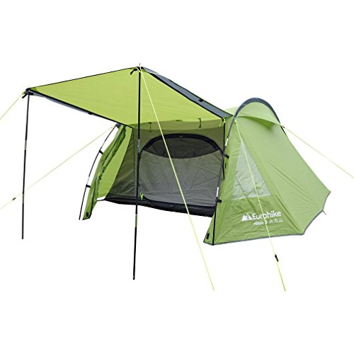 Eurohike Ribble 300 3 Person Tent, Green, One Size