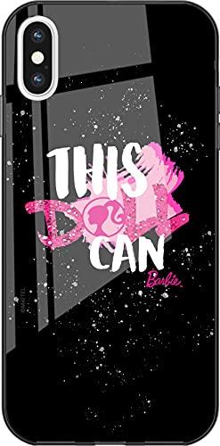 Funda Original de Barbie TPU para iPhone XS MAX, Cubierta de Silicona líquida, Flexible y Delgada, Protectora para Pantalla, a Prueba de Golpes y antiarañazos