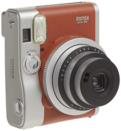 Fujifilm Instax Mini 90 Neo Classic Instant Film Camera, Brown