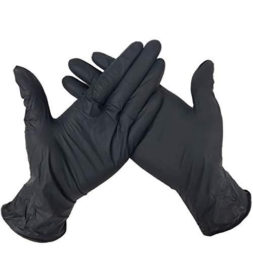 OLMME 100 unidades Guantes de protección Unisex desechables de limpieza para el...