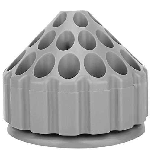 JVSISM Caja de Herramientas de Tallado con Soporte para Brocas Giratorias de 360 Grados para Herramientas de Almacenamiento, Caja de Almacenamiento de Herramientas para Taladro y Fresado