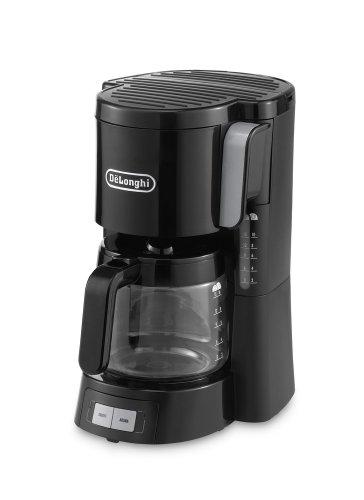 De'Longhi ICM15240BK Filter Coffee Maker - Black