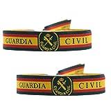 BDM Pulsera de la Guardia Civil con Escudo. Elige cantidad