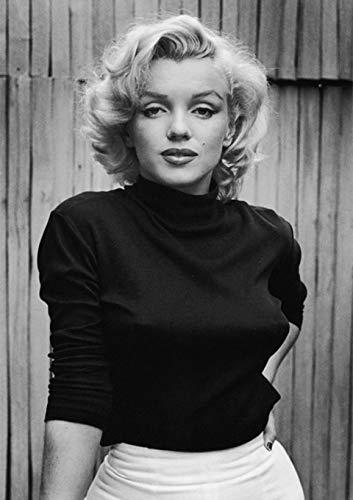 Kit Fai Da Te 5D per Pittura a Mosaico Adulti con Perline Marilyn Monroe 5D Accessori per Pittura a Punto Croce Number Painting per Soggiorno Casa Decorazione da Parete 30 x 40 cm