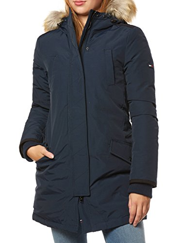 Tommy Hilfiger Technical Chaqueta, Azul (Total Eclipse 422), X-Large...