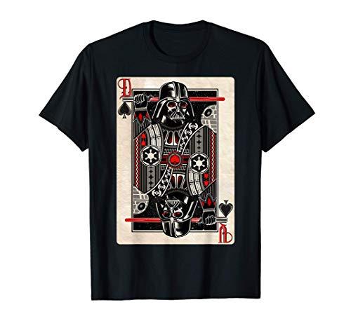 Star Wars Darth Vader King of Spades Graphic T-Shirt T-Shirt