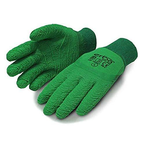 Gartenhandschuhe aus Baumwolle Latexbeschichtung extra robust für Dornen und Hecken Gr. L-9
