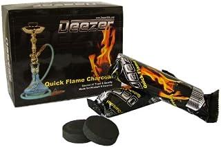 Deezer Quick Light Charcoal Coals, 33 mm, 10 Count