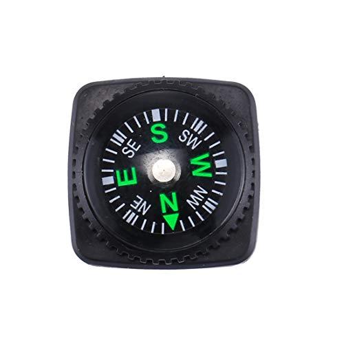 huihui Wandern Meter 10 PCS 20mm Outdoor Sports Camping Wandern Zeiger Guider Kunststoff Kompass Wanderer Navigation zufällige Farbe Lieferung